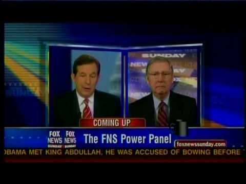 Senator McConnell on Fox News Sunday (June 20, 2010)