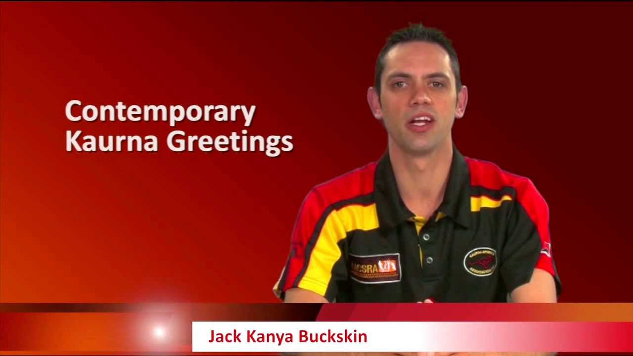 Lesson 2 Contemporary Kaurna Greetings Youtube