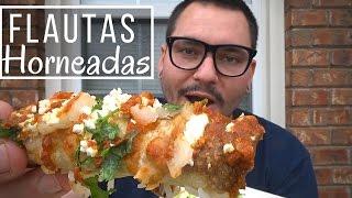 Flautas de pollo HORNEADAS | La Capital