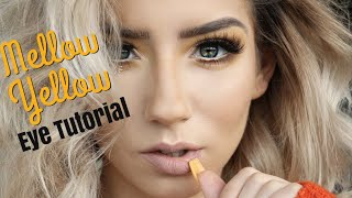 How to Make Yellow Eyeshadow Work | Talk Through Eye Tutorial