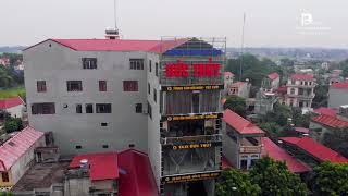 Thị trấn Thắng, Hiệp Hòa, Bắc Giang qua góc nhìn FLYCAM