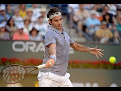Roger Federer Best Points ~ Indian Wells 2014