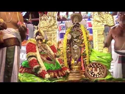 Srirangam Namperumal,  Uraiyur Kamalavalli Thaayar Serthi Sevai_7m 40s