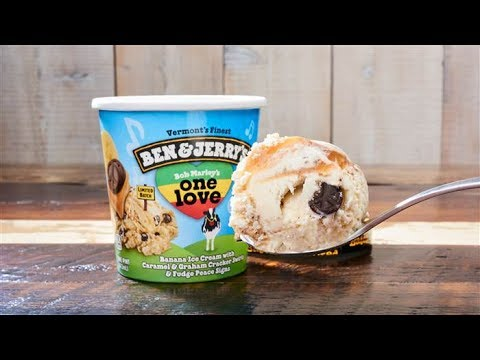 Ben & Jerry's Bob Marley's One Love Ice Cream Review - Wreckless Eating