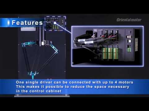 Parallel Delta Robot Using AZ Series ɑSTEP Hybrid Control