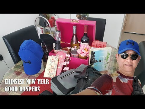 GONG XI FA CAI 2019, CHINESE NEW YEAR EVENT, HAMPERS REVIEW AND UN BOXING, SALES