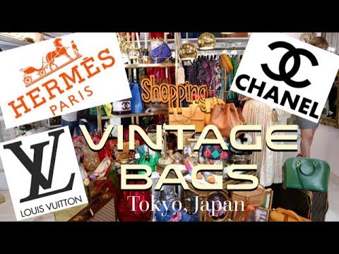 9d2870b75ca0 Vintage Bags at Vintage Qoo, Tokyo Japan (Chanel, Hermes, Louis Vuitton &  more)