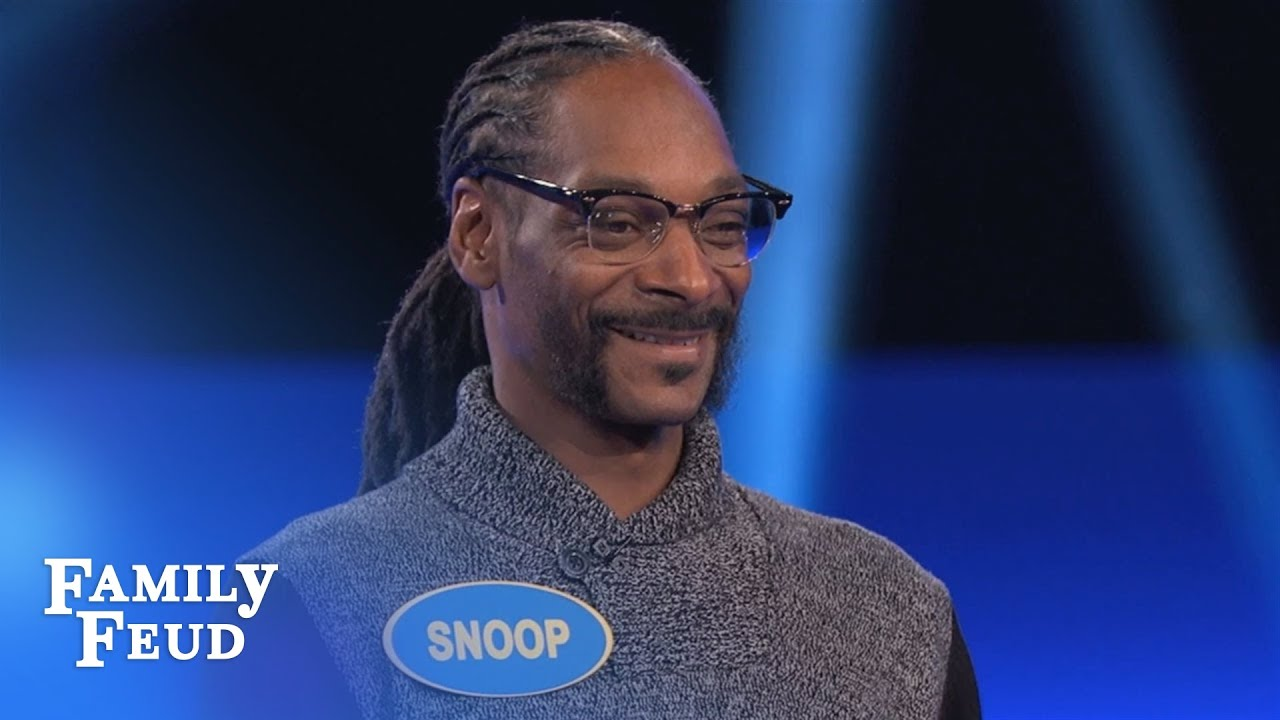 Snoop Dogg's CRAZY Fast Money!  Celebrity Family Feud  OUTTAKE