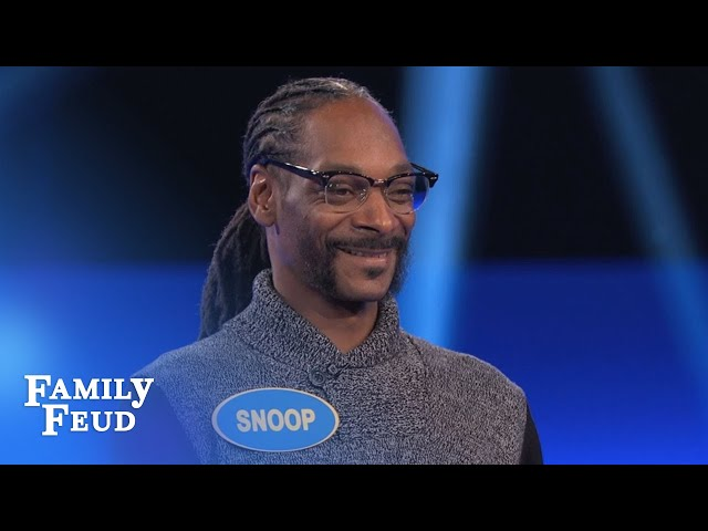 Snoop Dogg's CRAZY Fast Money! | Celebrity Family Feud | OUTTAKE