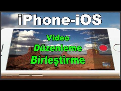 İşinize çok Yarayacak IPhone IOS Da Hızlı Video Düzenleme Birleştirme Programı