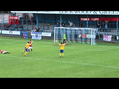 FC United Of Manchester Vs Lancaster City - Goal - FA Cup - 27/09/14