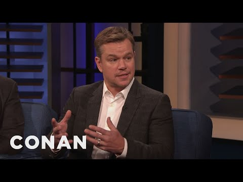 Clint August - Ben Affleck Came To Matt Damon's Rescue In A Fight - CONAN on TBS