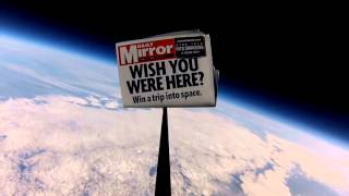 Win a Trip into space with the Daily Mirror
