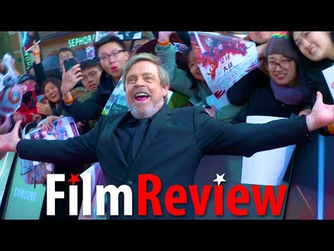 Star Wars The Last Jedi - Mark Hamill happy to be at Shanghai Premiere +co-star & crew