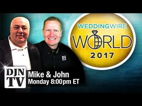 Wedding Wire World with Mike Schnauder | #DJNTVLive Chat with John Young