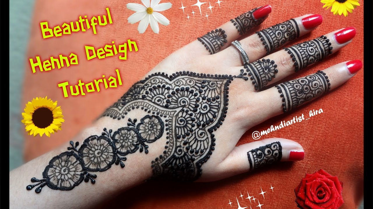 Mehndi design 2017 eid - Easy Simple Arabic Beautiful Henna Mehndi Designs For Hands Tutorial For Eid Diwali Weddings 2017