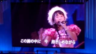 新春!チーム8祭り 坂口渚沙の乱「星空を君に」 第3バルコニーからモニ...
