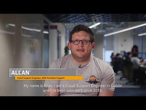 Meet Allan, AWS Premium Support, Dublin