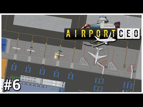 Airport CEO - #6 - More Medium - Let's Play / Gameplay / Construction