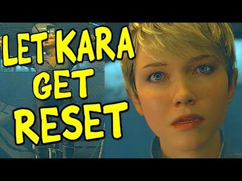 What Happens if you Let KARA Get RESET? Chapter ZLATKO Detroit Become Human