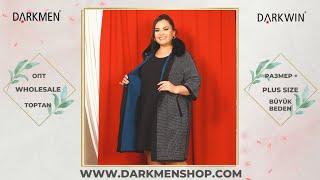 30 06 2021 1 Показ женской одежды больших размеров DARKWIN от DARKMEN Турция Стамбул Опт