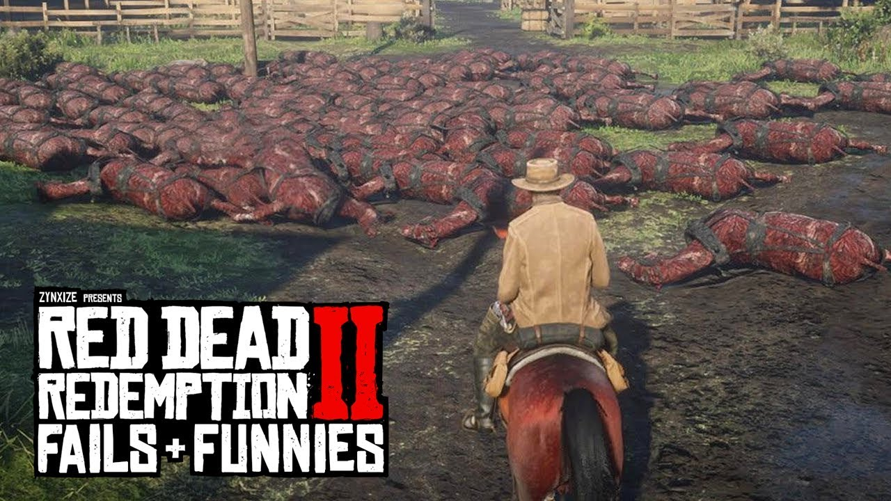 Red Dead Redemption 2 - Fails & Funnies #79 thumbnail