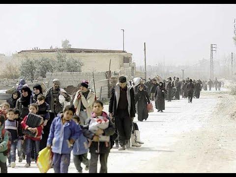 مدنيون ومقاتلون يتجمعون في جنوب الغوطة الشرقية لإجلائهم  - نشر قبل 1 ساعة