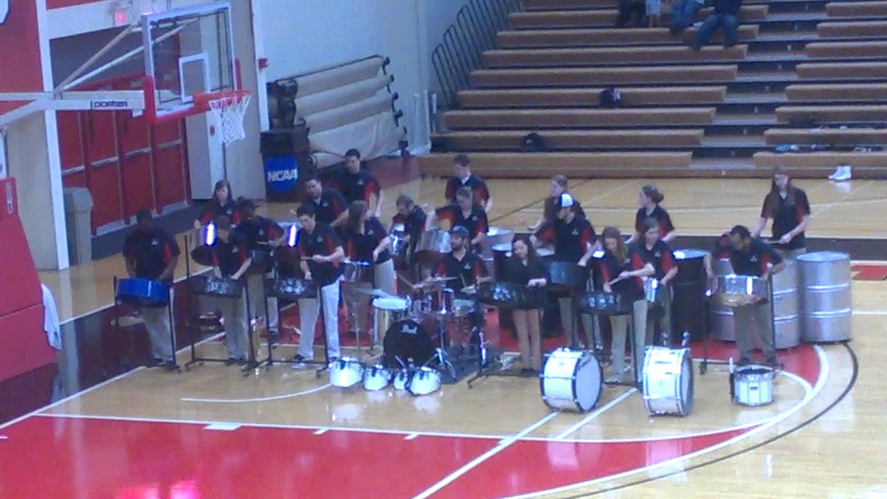 university of tampa spartan band steel drums performance youtube