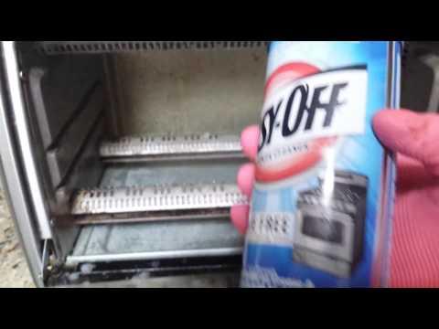 Melhor produto para limpar a gordura, graxa  do forno, fogao Easy OFF oven cleaner