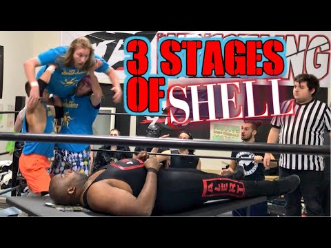 RHETT RETIRES? 3 STAGES OF SHELL TABLES MATCH GTS SATURDAY NIGHTS MAIN EVENT!