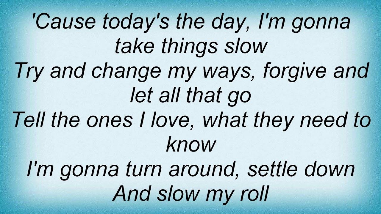 Kid Rock - Slow My Roll Lyrics - YouTube