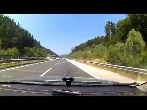 Slovenia A1/E57 from Maribor to Ljubjana road and tunnels