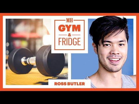 Ross Butler Shows His Gym & Fridge | Gym & Fridge | Men's Health thumbnail
