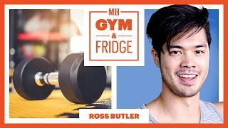 Ross Butler Shows His Gym & Fridge   Gym & Fridge   Men's Health