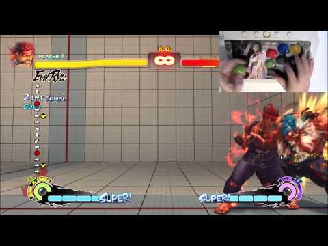 Evil Ryu Axe Kick/BnB Tutorial