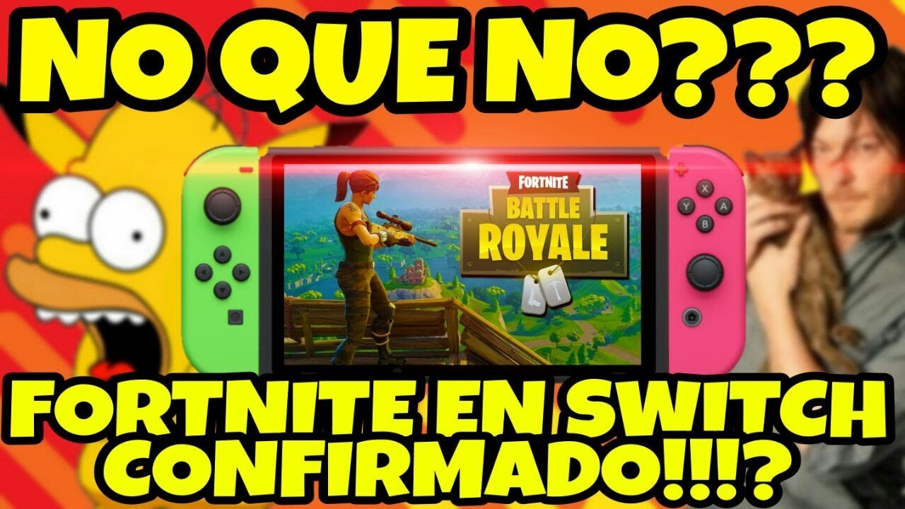 Noticias Epicaaas Por Fin Fortnite En Nintendo Switch Mas Cerca