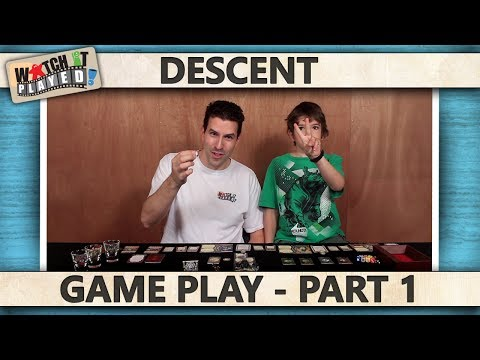 Descent Second Edition - Game Play 1