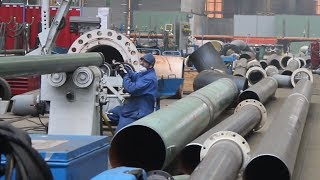 Case Study HGG Stationary Pipe Cutting machine at Stork Technical Services in Belgium