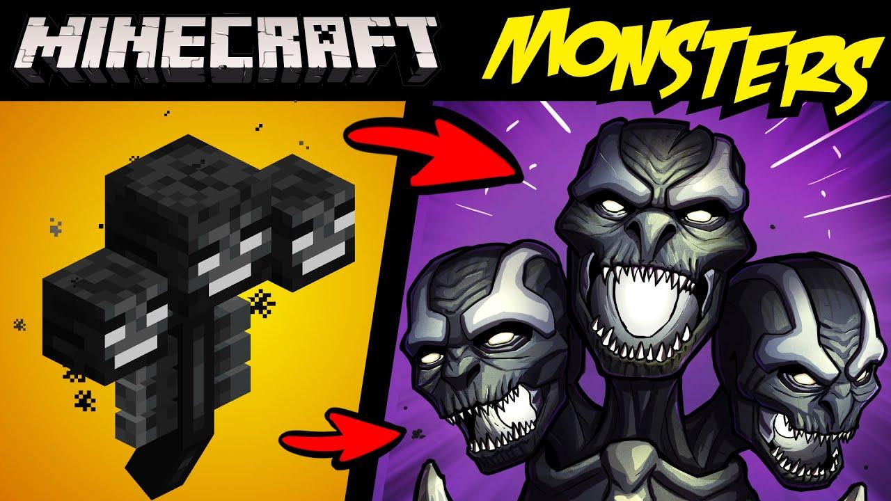 What if MINECRAFT MOBS Were FANTASY MONSTERS?! P2 (Lore & Speedpaint)