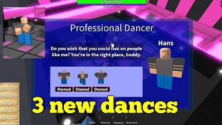 3 new dances at the disco-One Piece Legendary-Roblox