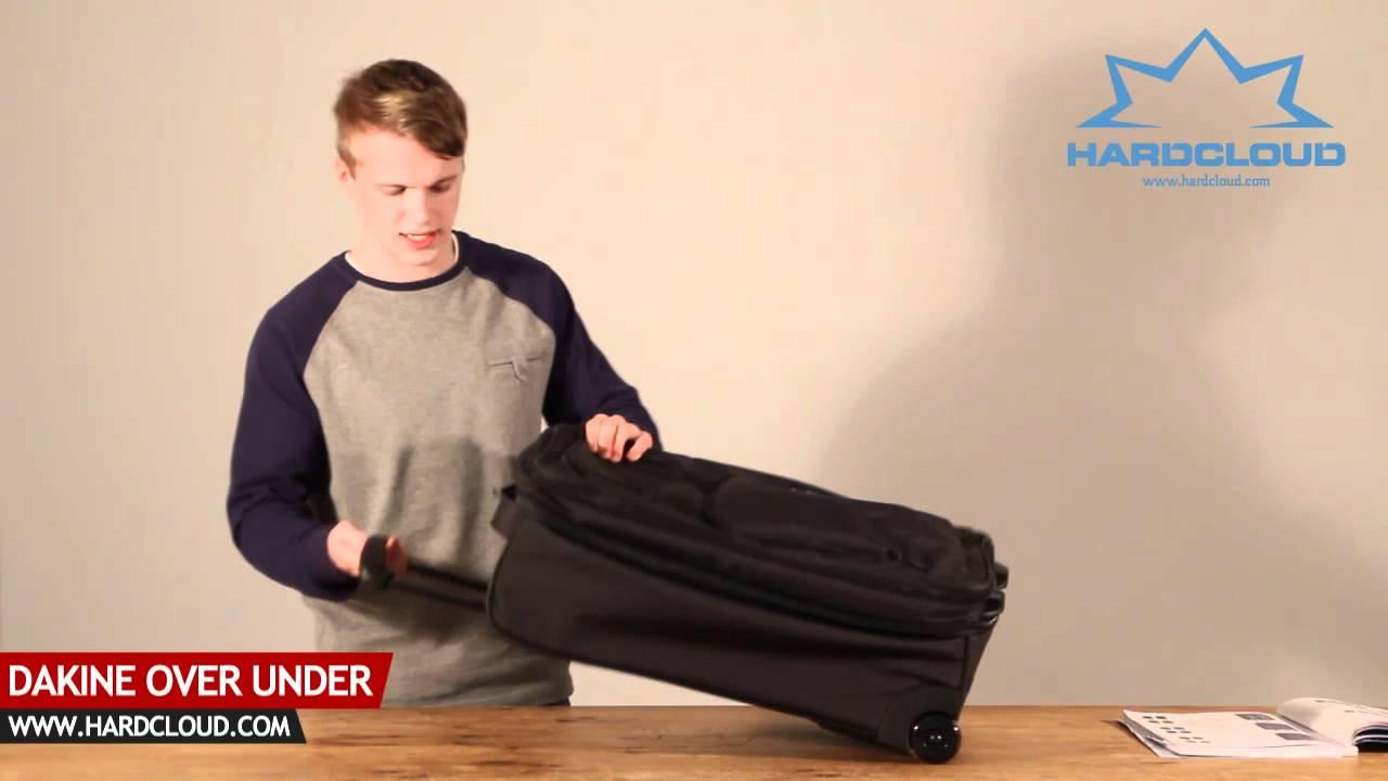 5e5ae6e2fe0 Dakine Over Under luggage review - YouTube