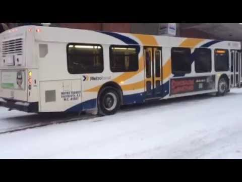 Bus troubles during Halifax storm
