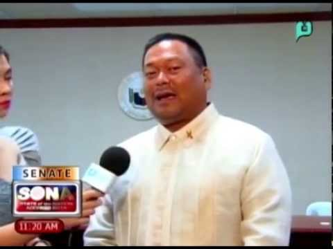 [SONA 2014 PTV Live Coverage] Interview with Sen. JV Ejercito [07|28|14]
