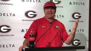 Georgia Bulldogs on UGASports.com: KIRBY SMART, 10-16-18