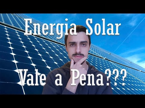 Energia Solar em Microgeração  - Solução e Problemas