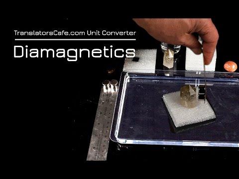 Diamagnetic Materials