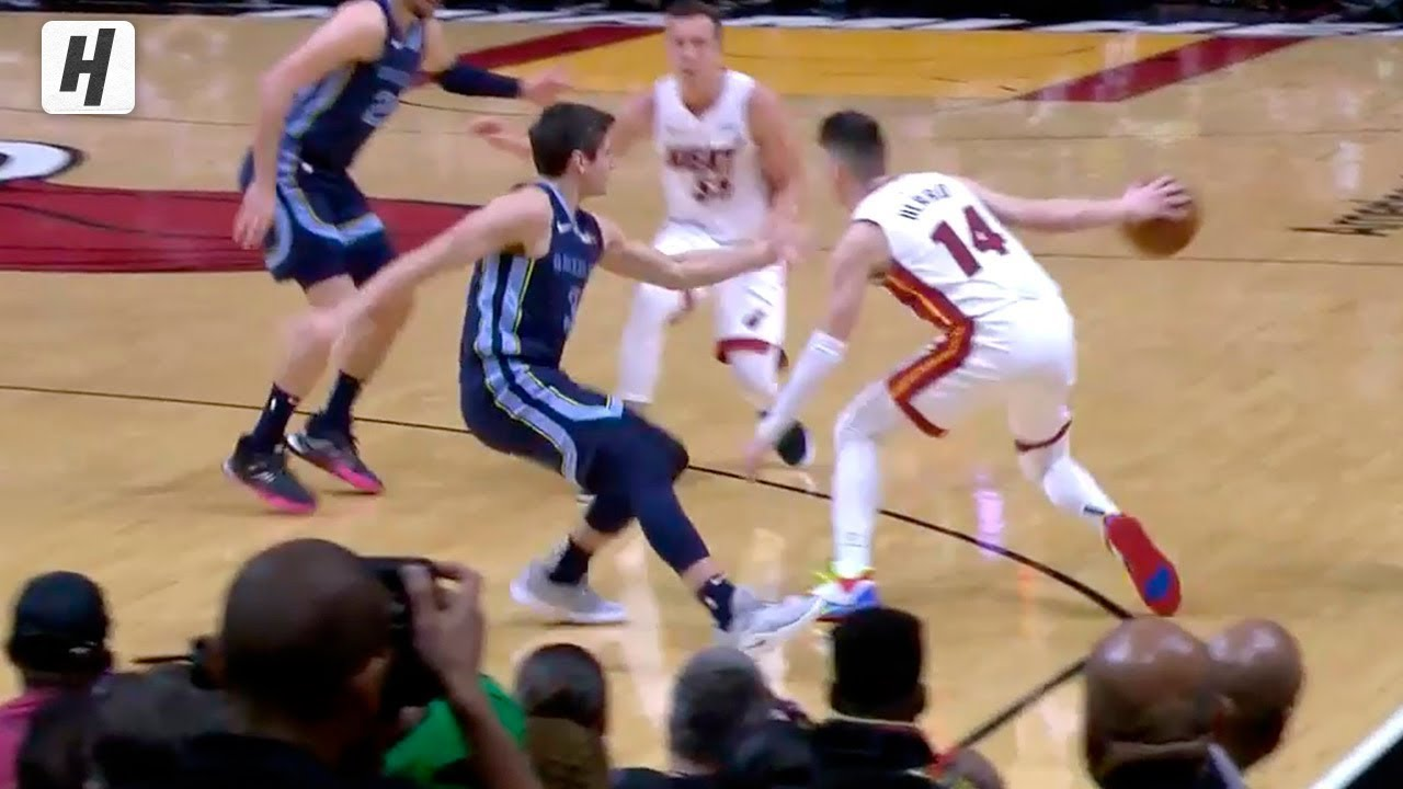 Tyler Herro Drops Grayson Allen With Crossover October 23 2019 20 Nba Season Youtube