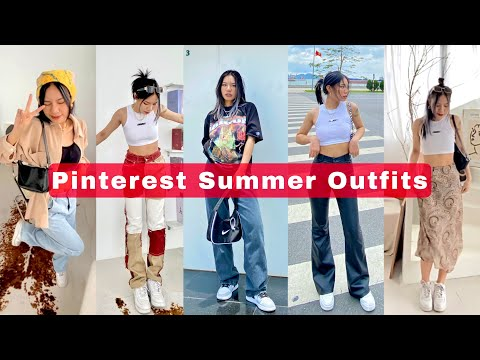 Pinterest Summer Outfits | Gợi ý cách mix đồ hè theo style Âu Mỹ ✨ | Sweetpea 🌙