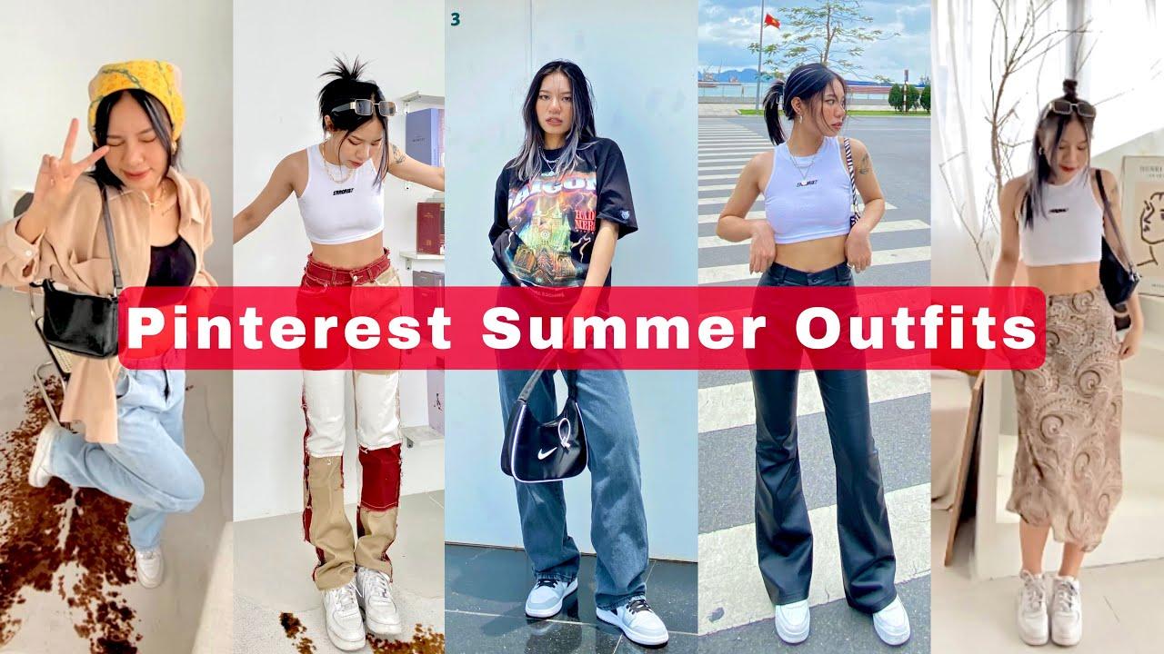 Pinterest Outfits Ep.1 | Gợi ý cách mix đồ hè theo style Âu Mỹ ✨ | Sweetpea 🌙 | Bao quát các thông tin về phong cách thời trang nam châu âu mới cập nhật