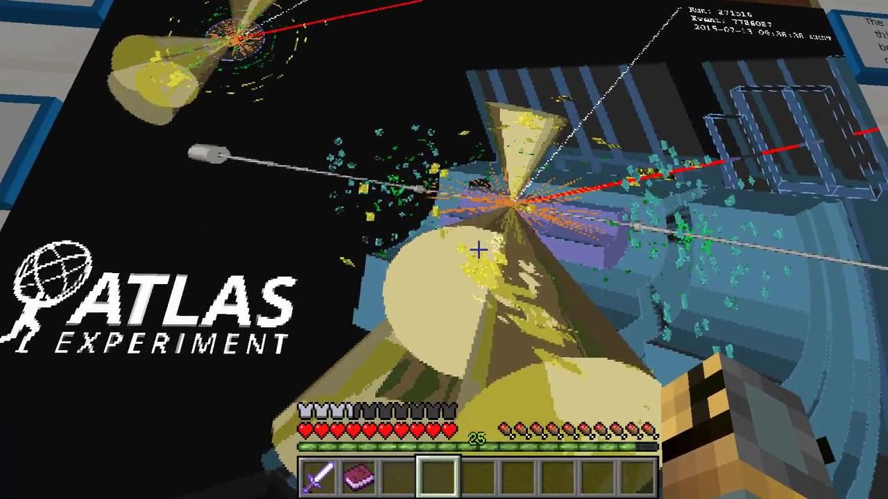 Noch Mehr MiniSpiele Und Ein Quiz Minecraft CERN AdventureMap - Minecraft quiz spiel